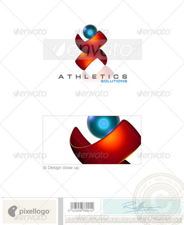 Activities & Leisure Logo - 3D-99 - 3d Abstract
