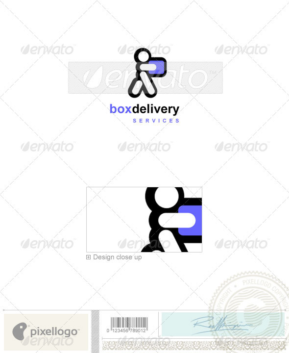 Transportation Logo - 677 - Vector Abstract