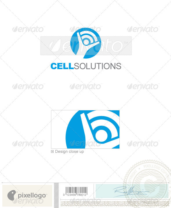Communications Logo - 2113 - Vector Abstract