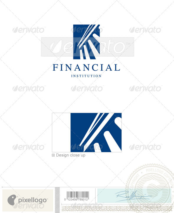 Business & Finance Logo - 642 - Buildings Logo Templates