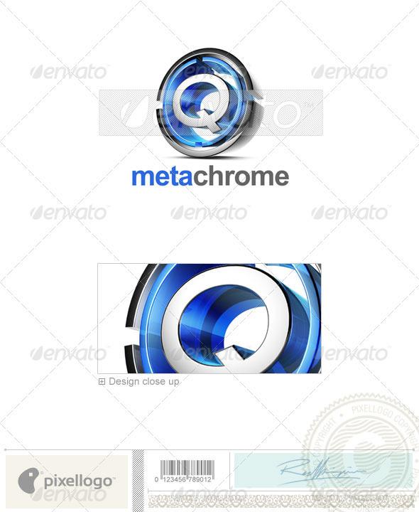 Q Logo - 3D-476-Q - Letters Logo Templates