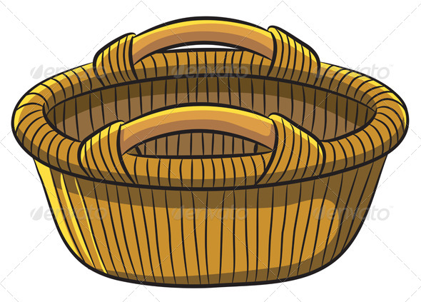 Fruit Basket - Man-made Objects Objects
