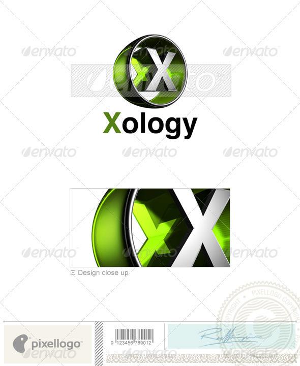 X Logo - 3D-438-X - Letters Logo Templates