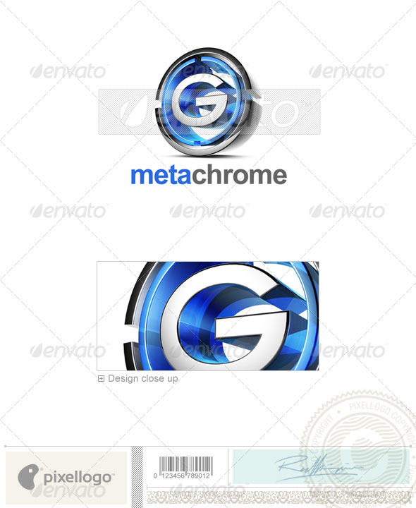 G Logo - 3D-476-G - Letters Logo Templates