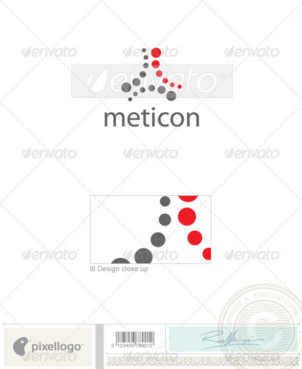 Technology Logo - 2076 - Vector Abstract