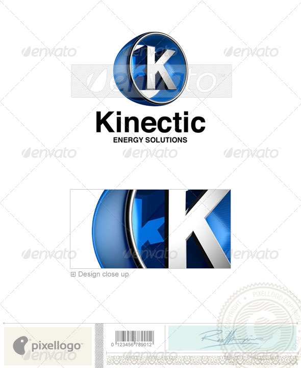 K Logo - 3D-438-K - Letters Logo Templates