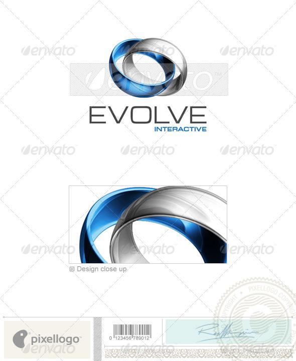 Technology Logo - 3D-399 - 3d Abstract