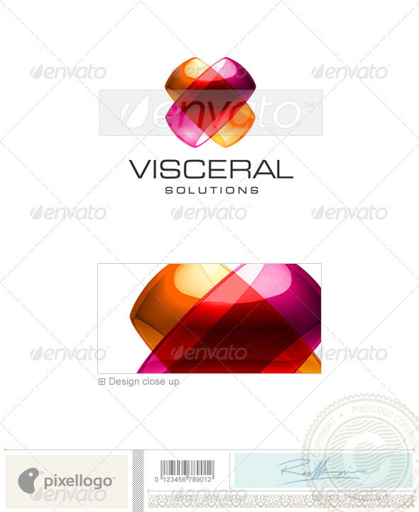Technology Logo - 3D-411 - 3d Abstract