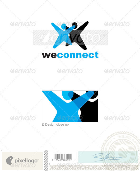 Business & Finance Logo - 1955 - Humans Logo Templates