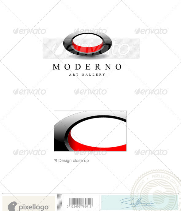 Print & Design Logo - 1306 - Vector Abstract