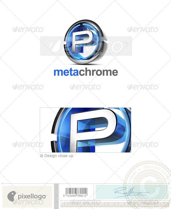 P Logo - 3D-476-P - Letters Logo Templates