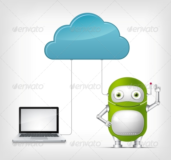 Green Robot - Computers Technology