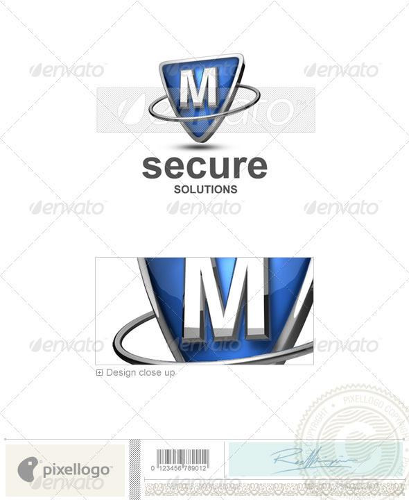 M Logo - 3D-285-M - Letters Logo Templates
