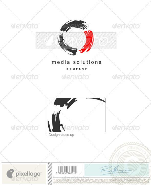 Print & Design Logo - 510 - Vector Abstract