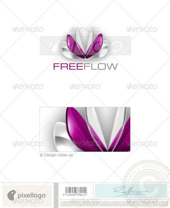 Industry & Science Logo - 3D-290 - 3d Abstract