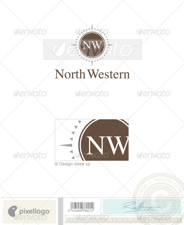 Communications Logo - 306 - Vector Abstract