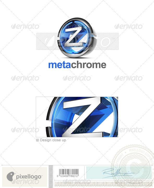 Z Logo - 3D-476-Z - Letters Logo Templates