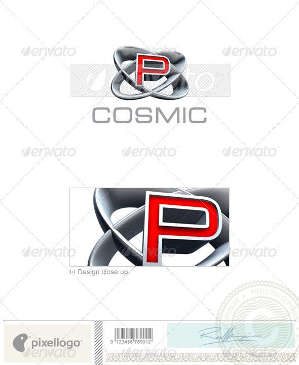 P Logo - 3D-348-P - Letters Logo Templates