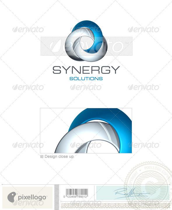 Technology Logo - 3D-396 - 3d Abstract