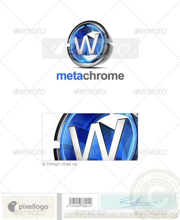 W Logo - 3D-476-W - Letters Logo Templates