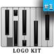 Piano Logo - GraphicRiver Item for Sale