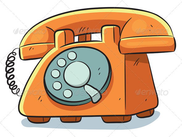 Old Phone - Man-made Objects Objects