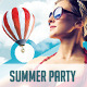 Summer/Beach Party Flyer & Poster Templates - GraphicRiver Item for Sale