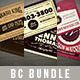 Vintage Business Cards Bundle - GraphicRiver Item for Sale
