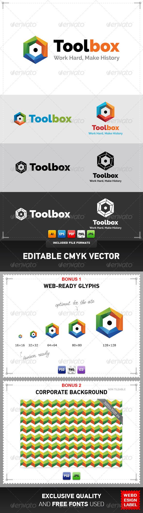 Toolbox Logo - Objects Logo Templates