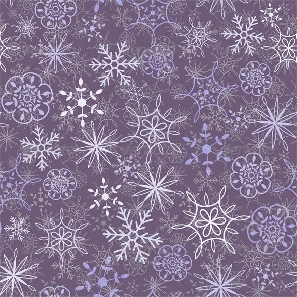 Snow Pattern - Patterns Decorative