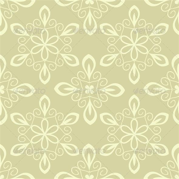 Beige Pattern - Patterns Decorative
