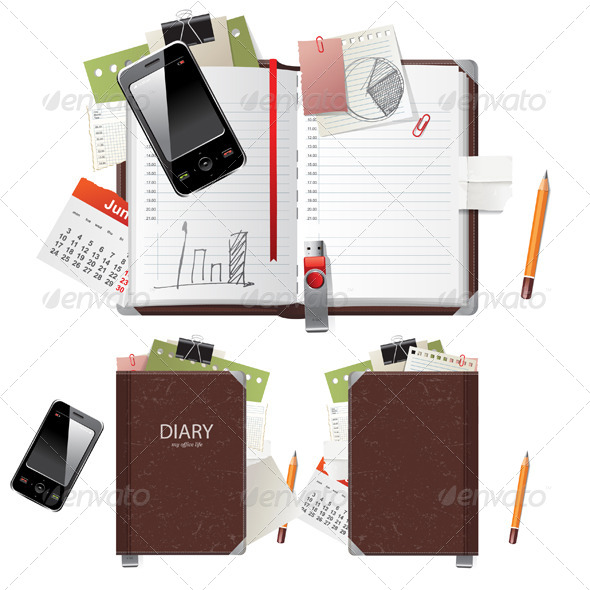 Diary - Backgrounds Business