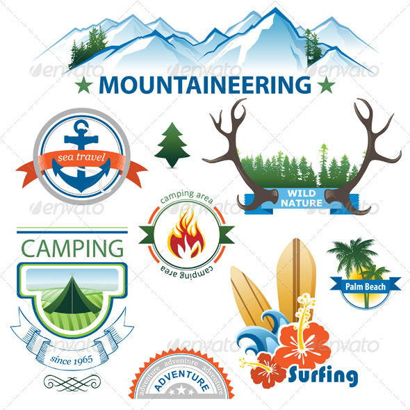 Adventure Icons - Miscellaneous Conceptual