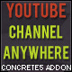 YouTube Channel Anywhere Concrete5  Add-On - CodeCanyon Item for Sale