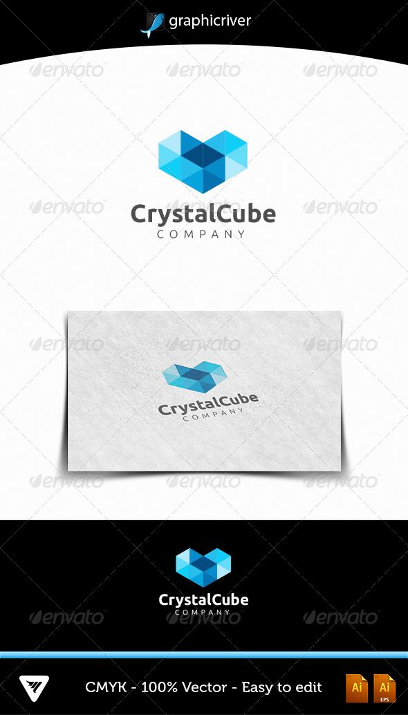 Crystal Cube - Logo Templates