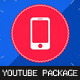 Youtube Design Package for Hi-tech Video Blog - VideoHive Item for Sale