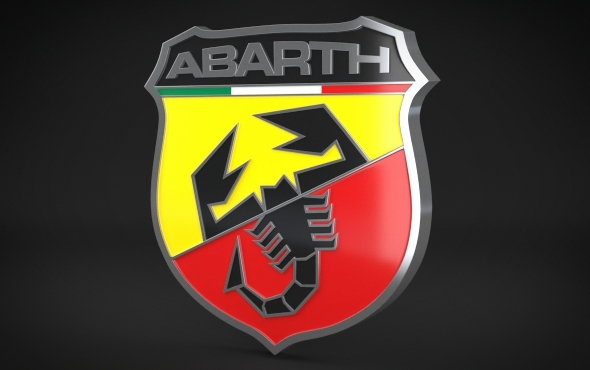 Abarth Logo - 3DOcean Item for Sale