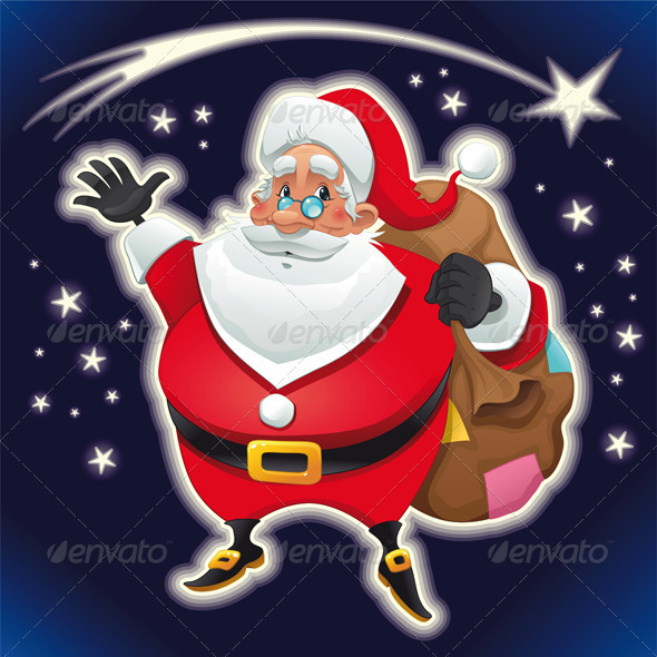 Santa Claus.  - Characters Vectors