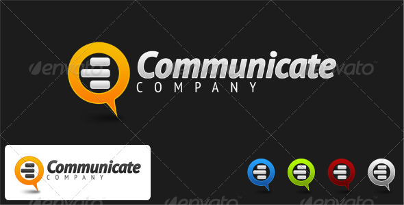 Communicate Company Logo - Vector Abstract