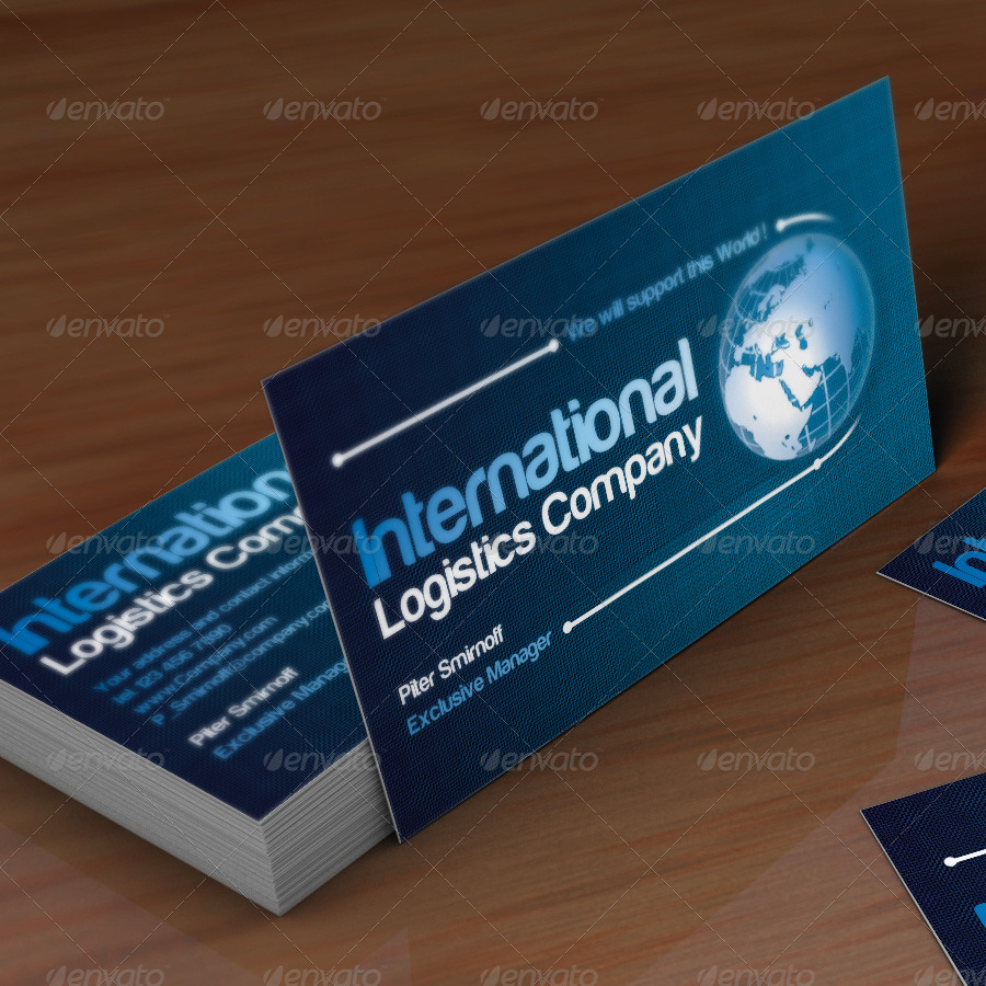 Global Business Card by Tritonium | GraphicRiver