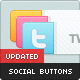 Social Networking Buttons - GraphicRiver Item for Sale