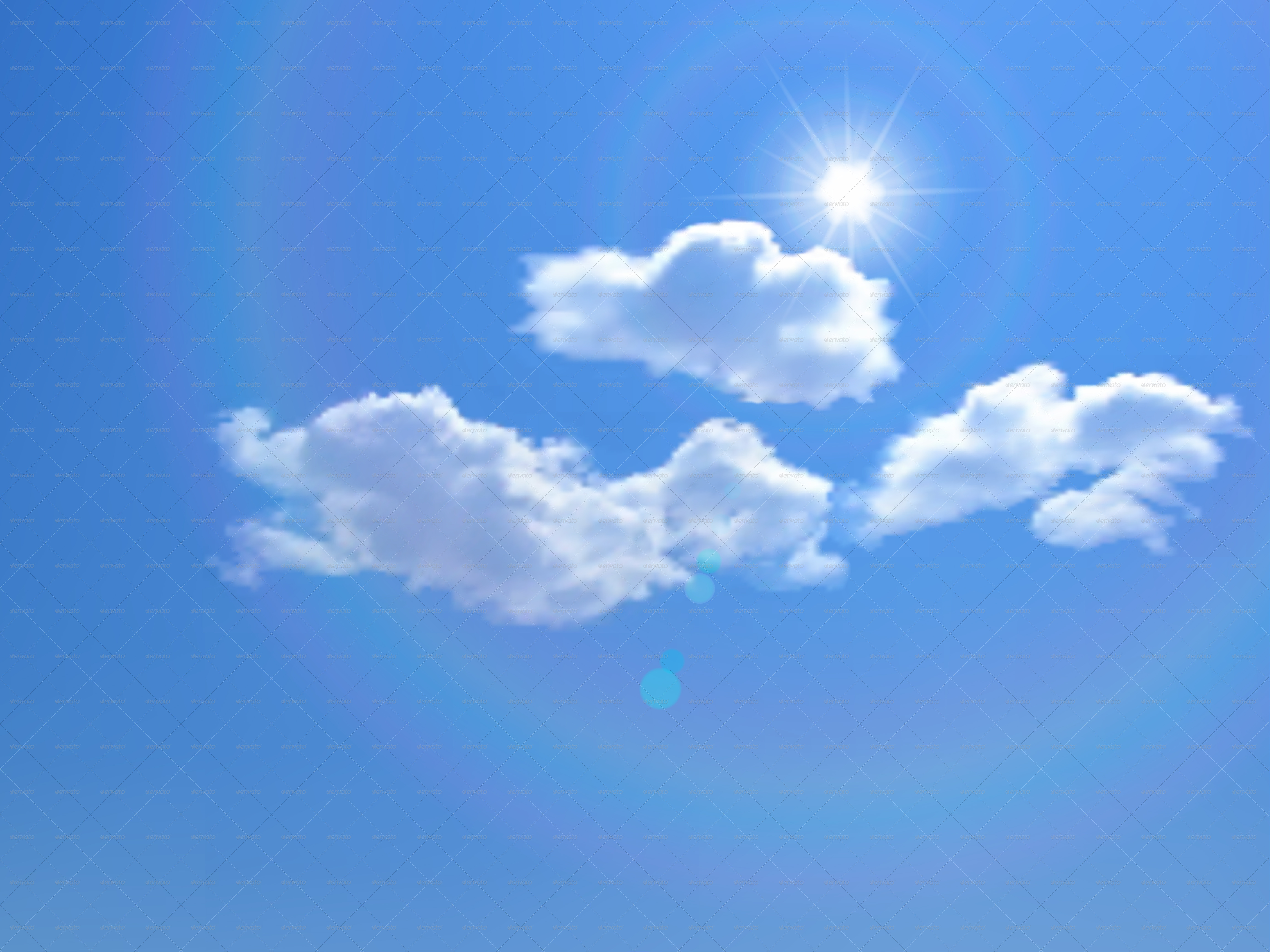 Sky Backgrounds with Clouds and Sun by 31moonlight31