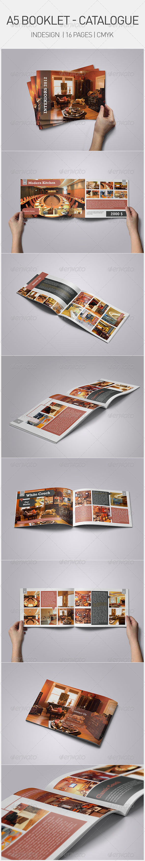 A5 Booklet - Catalogue - Corporate Brochures