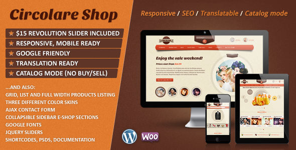 Circolare – Multi-Use WooCommerce Theme