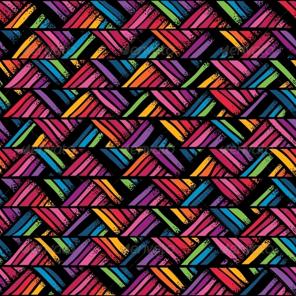 Hand Drawn Colorful Seamless Pattern - Patterns Decorative