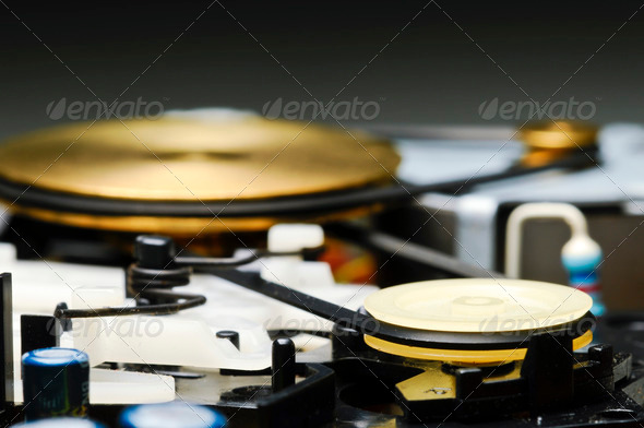 Tape Recorder Detail - Stock Photo - Images