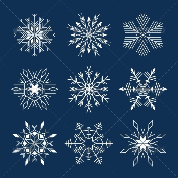 Snowflake - Christmas Seasons/Holidays