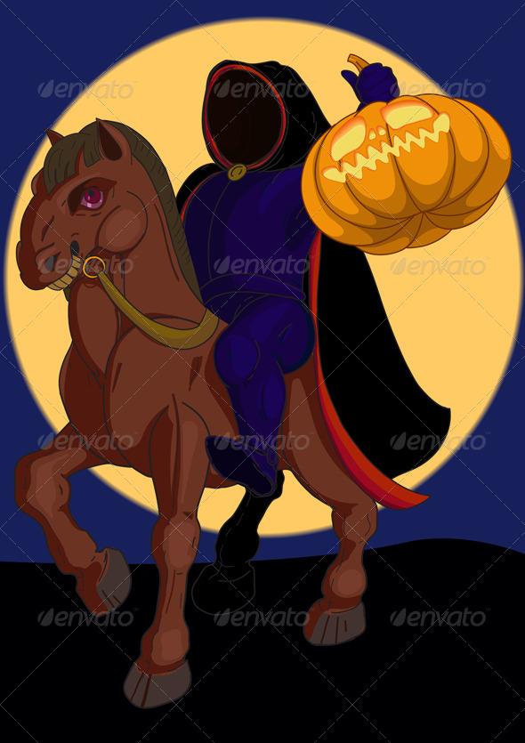 Headless Horseman - Monsters Characters