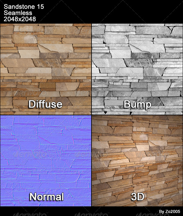 Sandstone Seamless Texture 15 - 3DOcean Item for Sale