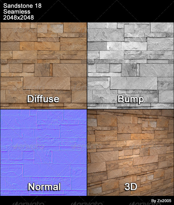 Sandstone Seamless Texture 18 - 3DOcean Item for Sale